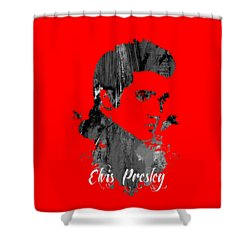 Elvis Presley Collection Shower Curtain by Marvin Blaine