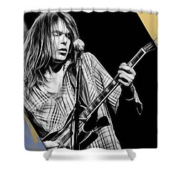Neil Young Collection Shower Curtain