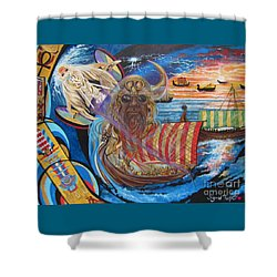 Empires Never Die                                          Blaa Kattproduksjoner          Shower Curtain