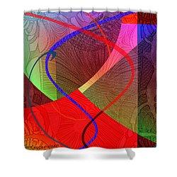 504 - Patterns  2017 Shower Curtain by Irmgard Schoendorf Welch