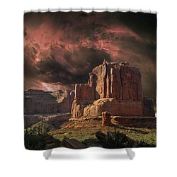 4150 Shower Curtain by Peter Holme III