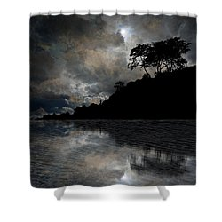 4156 Shower Curtain by Peter Holme III