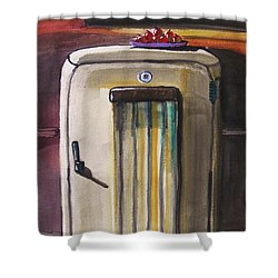 50's Update Shower Curtain by John Williams