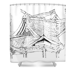 5.17.japan-4-detail-a Shower Curtain