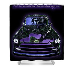 51chevrolet Coupe Shower Curtain by Peter Piatt