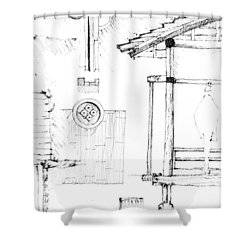 5.20.japan-4-detail-d Shower Curtain