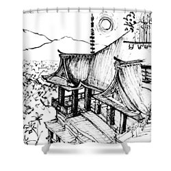 5.24.japan-5-detail-c Shower Curtain