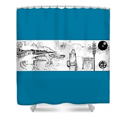 5.26.japan-6-detail-a Shower Curtain
