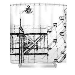 5.32.japan-7-detail-b Shower Curtain