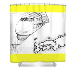 5.33.japan-7-detail-c Shower Curtain