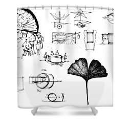 5.36.japan-8-detail-b Shower Curtain
