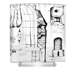 5.39.japan-9-detail-a Shower Curtain