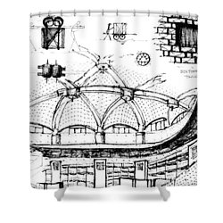 5.40.japan-9-detail-b Shower Curtain