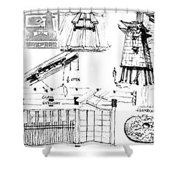 5.41.japan-9-detail-c Shower Curtain