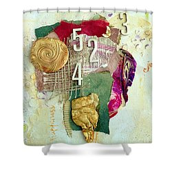 #5423, Joy And Happiness Shower Curtain