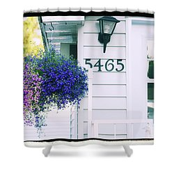 Shower Curtain featuring the photograph 5465 -h by Aimelle