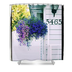 Shower Curtain featuring the photograph 5465 -v by Aimelle