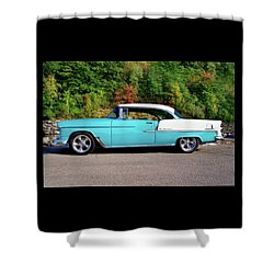 55 Belair Shower Curtain
