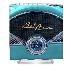 55 Chevy Dash Shower Curtain