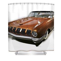 55 Merc Concept Shower Curtain