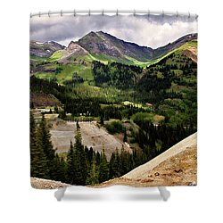 550 View Shower Curtain