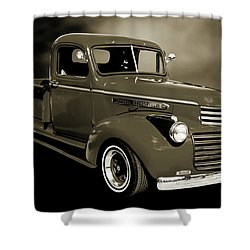5514.04 1946 Gmc Pickup Truck Shower Curtain by M K  Miller