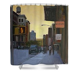 55th And 5th Shower Curtain