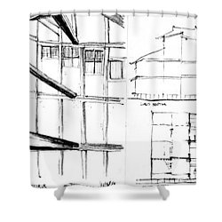 5.6.japan-2-left-side Shower Curtain