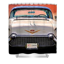 57 Caddy Shower Curtain