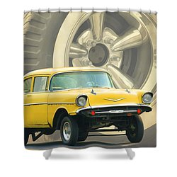 57 Gasser Shower Curtain