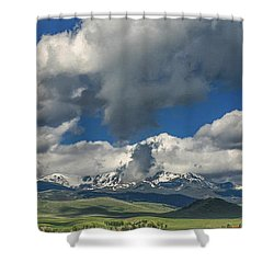 #5773 - Southwest Montana Shower Curtain