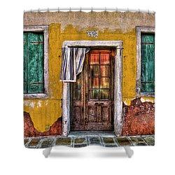 595 Burano Shower Curtain