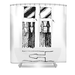 5.9.japan-2-detail-b Shower Curtain