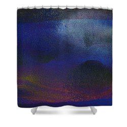 5ive Shower Curtain by James Barnes