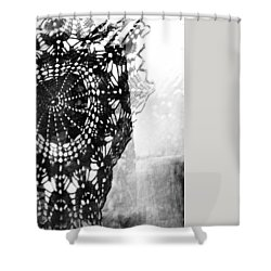 Shower Curtain featuring the photograph Issue  by Danica Radman