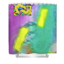 6-20-2015cabcdefghijklmnopqrtuvwxyzabcdefghi Shower Curtain
