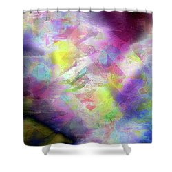 Shower Curtain featuring the photograph Abstract Photography by Allen Beilschmidt