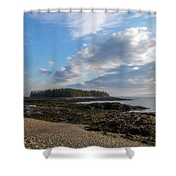 Shower Curtain featuring the photograph Acadia National Park by Trace Kittrell