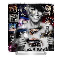 Annie Lennox Collection Shower Curtain