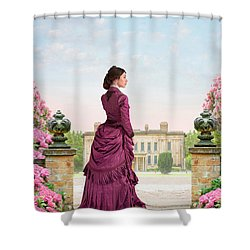 Beautiful Victorian Woman Shower Curtain
