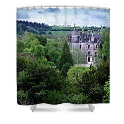 blarney castle blarney near cork ireland shower curtain