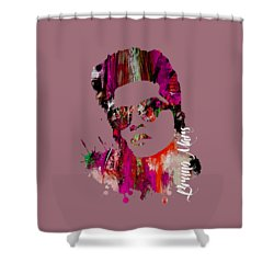 Bruno Mars Collection Shower Curtain