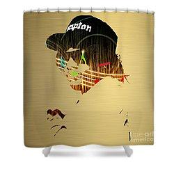 Eazy E Straight Outta Compton Shower Curtain