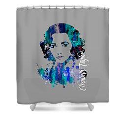 Elizabeth Taylor Collection Shower Curtain