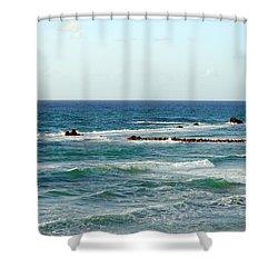 Jaffa Beach 4 Shower Curtain