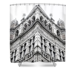 London Building Shower Curtain
