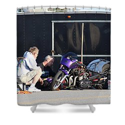 Man Cup 08 2016  Shower Curtain