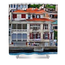 On The Bosphorus Shower Curtain