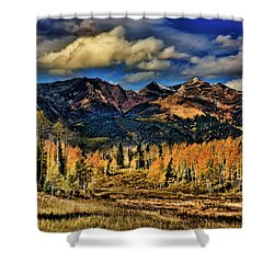 Rocky Mountain Fall Shower Curtain