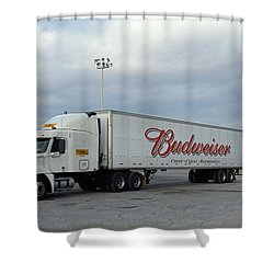 Route 66 - Dixie Truckers Home Shower Curtain